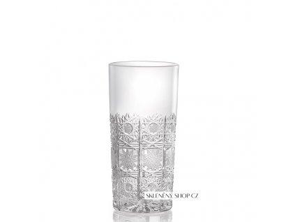 Aurum Crystal Broušená sklenice na long drink 350 ml