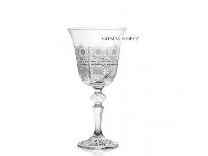 Aurum Crystal Broušená sklenice na víno 220 ml