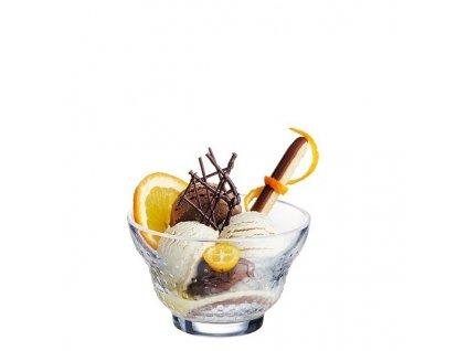 Luminarc skleněná miska na zmrzlinu ICED DOTS 350 ml