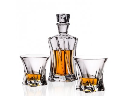 Aurum Crystal Cooper whisky set (1+2)