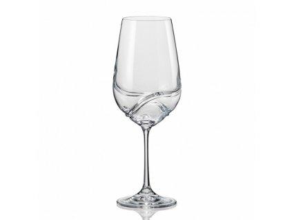 Crystalex Sklenice na víno TURBULENCE 350 ml
