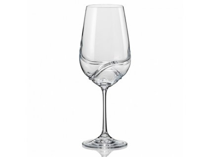 Crystalex Sklenice na víno TURBULENCE 550 ml