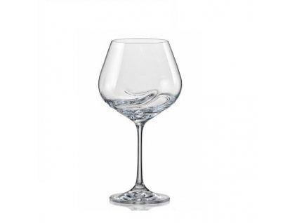 Crystalex Sklenice na víno TURBULENCE 570 ml