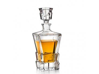 Bohemia Jihlava crack whisky karafa