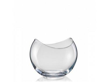 crystalex skleněná váza gondola 175 mm