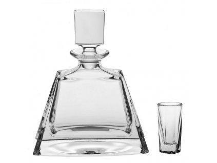 kathrene liquer karafa crystal bohemia 700 ml