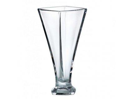 Crystalite Bohemia Skleněná váza QUADRO 280 mm