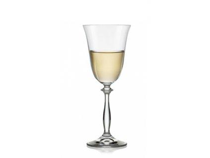 Crystalex Sklenice na víno Angela 185 ml