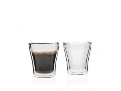 Leonardo Skleničky na espresso DUO 85 ml 2ks