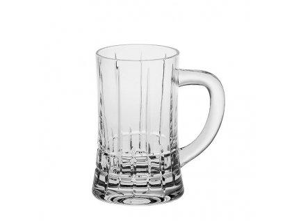 Crystal Bohemia Luxusní pivní půllitr DOVER 0,5 l