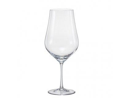 Crystal Bohemia Sklenice na víno Tulipa 550 ml Crystalex