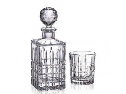 Aurum Crystal Diplomatico whisky set (1+6)
