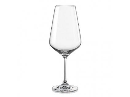 Crystalex Sklenice na víno Sandra 550 ml