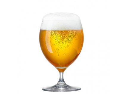 rona sklenice na pivo na nozce stopce set