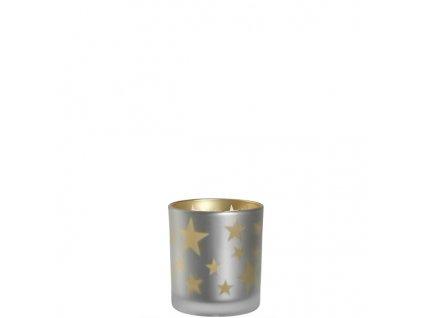 leonardo svicinek svicen skleneny s hvezdami zlata gold stars