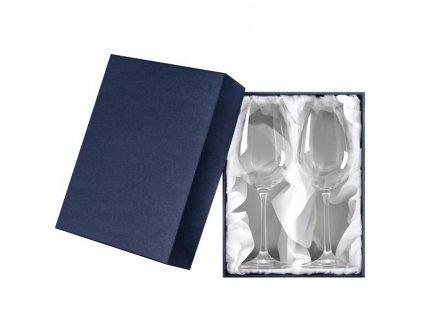 dárková krabička svatební skleničky