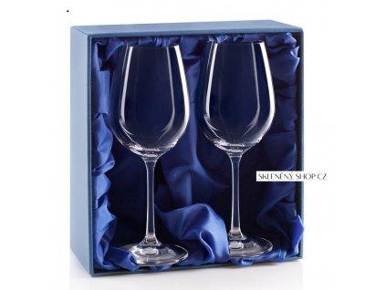 Dárková krabička na 2 vinné sklenice