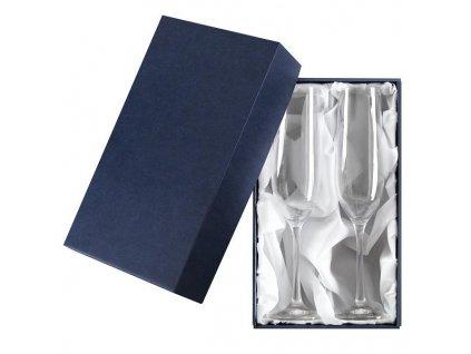 Dárková krabička na 2 sektové sklenice