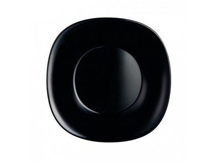 Luminarc Hluboký talíř Carine černý 21 cm