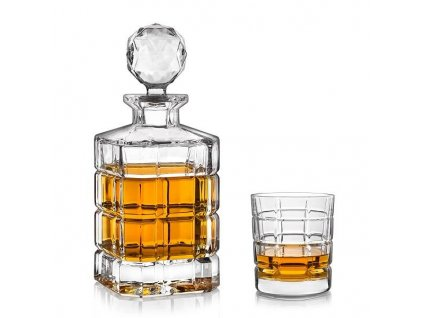 Crystal Bohemia Timesquare whisky set (1+6)