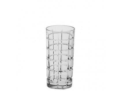 Crystal Bohemia Sklenice long drink Timesquare 420 ml