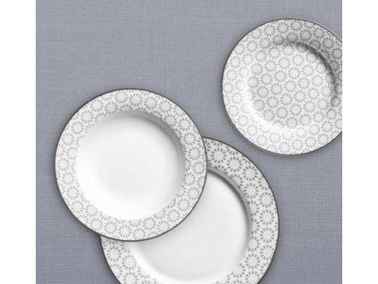 jídelní souprava talířů ornate 18 ks