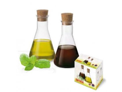 Simax Sada lahviček na olej a ocet