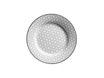 plochý dezertní talíř ornate 20,5 cm