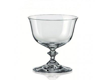 Crystalex Zmrzlinový pohár ANGELA 300 ml, 1 ks