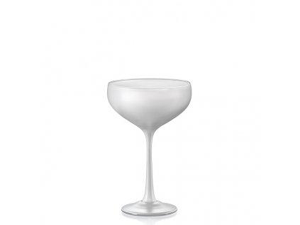 Crystalex Sklenice na koktejly Pralines 180 ml bílá D5251 40919 180