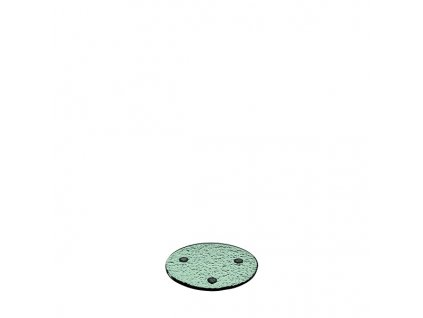 skleněné podtácky skleněné Leonardo 4 ks