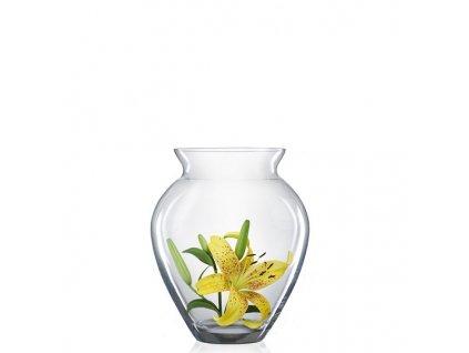 Bohemia Crystal skleněná váza 180 mm