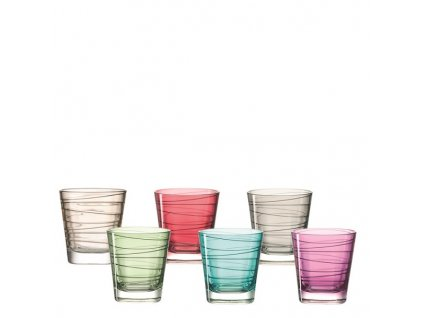 Leonardo barevné sklenice Vario 250 ml 047286