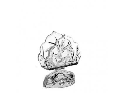 crystal bohemia stojánek na ubrousky pinwheel