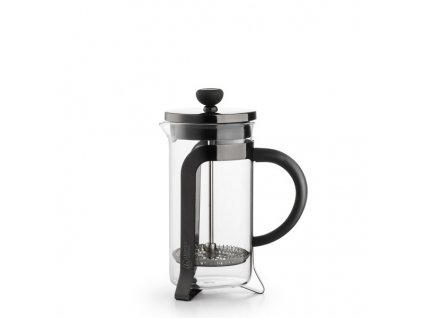 leopold vienna french press shiny black 0,35 l
