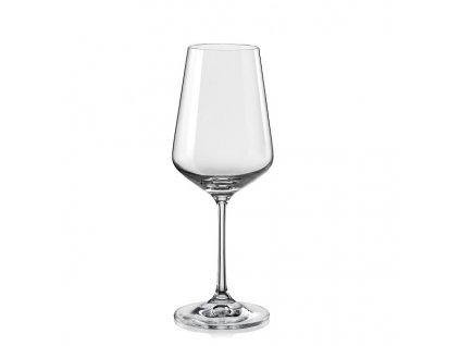 crystalex sklenice na víno sandra 350 ml