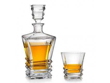 Bohemia Jihlava whisky set Rocky