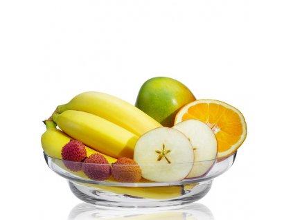 rona skleněná mísa na ovoce 24 cm