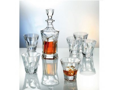 Crystalite Bohemia Apollo Whisky Set (1+6)