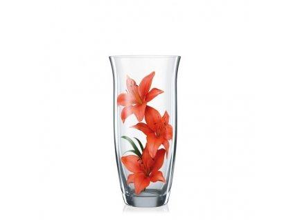 Crystalex Skleněná váza 255 mm