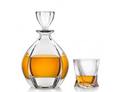 Crystalite Bohemia Whisky set Laguna
