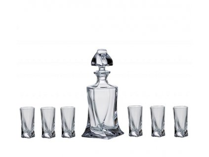 Crystalite Bohemia Quadro shot set (1+6)