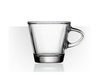 Hrastnik Skleněný hrnek na espresso s podšálkem 80 ml