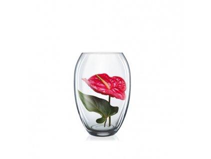 Crystalex Skleněná váza OVUM 180 mm