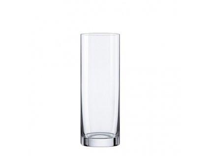 Rona skleněná váza válec 300 mm
