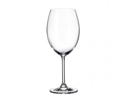 crystalite bohemia sklenice na červené víno colibri 580 ml