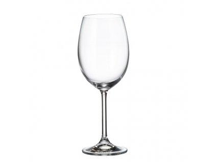 crystalite bohemia sklenice na červené víno colibri 450 ml