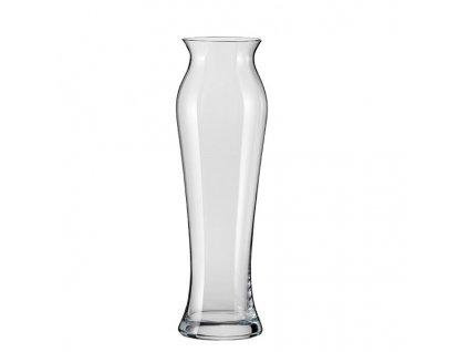 Crystalex tvarovaná skleněná váza 340 mm