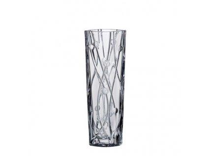 Crystalite Bohemia Skleněná váza Bohemia LABYRINTH 255 mm