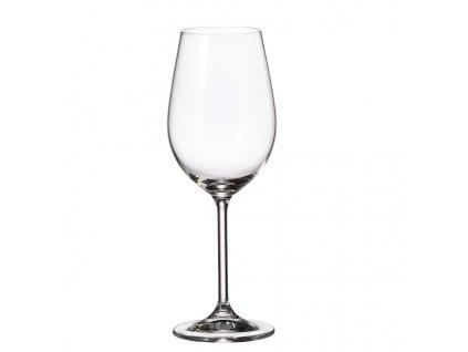 crystalite bohemia sklenice na víno colibiri 350 ml